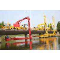 Buy cheap 18m Bucket type Bridge Inspection truck Easy Access  Easy Operation Safety product