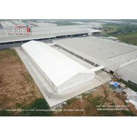 Buy cheap 40m Width Aluminum Frame Industrial Storage Tents With Ventilation Windows product