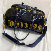 Buy cheap PVC mirror leather lacquered leather split off shoulder bag travel bag shopping bag gym bag product
