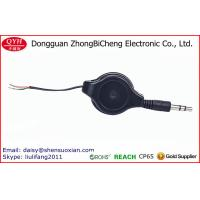 Buy cheap Double Sided Pull Retractable Cut Open 3.5MM Speaker Cable from wholesalers
