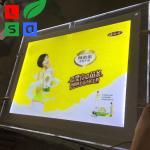 Buy cheap Ultra Thin Single Side LED Crystal Light Box High Bright Menu Board Sign product