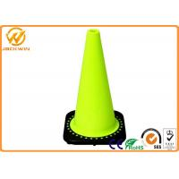 China High Reflective Tape 28 Inch Traffic Cones for Road Construction / Parking Lot / Bridge wholesale