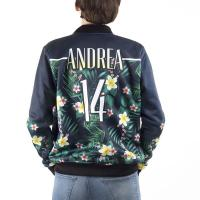 Buy cheap OEM wholesale customize women bomber jacket all print sublimation print product