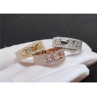 Buy cheap Fully Handcrafted Messika Jewelry / 18 Carat Yellow Gold Diamond Band product