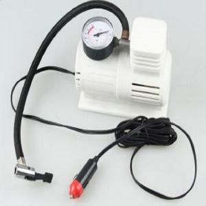 Buy cheap White Mini Air Pump With 45cm Hose , Hand Held Heavy Duty Car Air Compressor product