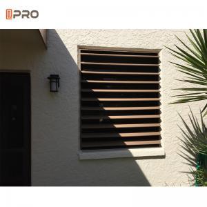Buy cheap Horizontal Aluminum Adjustable Rear window louvers product