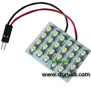 Buy cheap Led dome led light interior reading bulb led 24pcs 3528 SMD car top lighting product