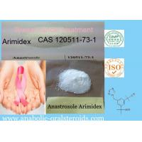 Buy cheap SERMs Arimidex / Anastrozole CAS 120511-73-1 For Breast Cancer Treatment product