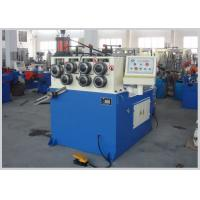 Buy cheap 220v / 380v High Speed Pipe Rounding Machine 4kw Low Power Construction product