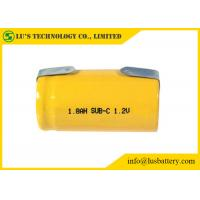 Buy cheap SC 1800mah 1.2V Nickel Cadmium Battery NICD Charger Cylindrical Cell Type product