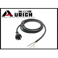 Buy cheap PVC Insulation Denmark Power Cord 16A 250V , Danish Appliance Extension Cord product