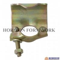 Buy cheap Right Angle Scaffolding Putlog Coupler Zinc Plated  Finishing 48.3mm Size EN74 product