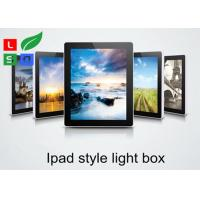 Buy cheap Ipad Style LED Magnetic Light Box Single Sided 2800 LUX Brightness For Wall Graphic Display product