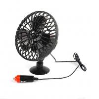Buy cheap DC 12V Oscillating Car Cooling Fan With On / Off Switch Suction Cup Mounting product