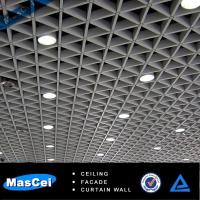 Buy cheap Metal cell ceiling, Aluminum open ceiling for supermarket product