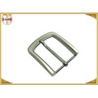 Buy cheap Pearl Nickel Brushed 1.5 Inch Metal Belt Buckle Perfect Design Die Casting Plating product