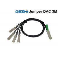 Buy cheap Juniper Passive 40G Breakout Cable QSFP+ to 4 SFP+ For QDR Infiniband product