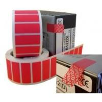 Buy cheap Non Residue Void Sticker Label , Single Sided Tamper Proof Labels product