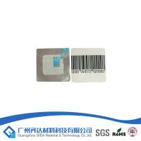 Buy cheap Super Magnetic Key Barcode Security Labels With Double Coated Acrylic-Based Adhesive product
