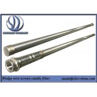 Buy cheap Stainless Steel Slot Tube Slot Tube Candle Filter With End Fittings product