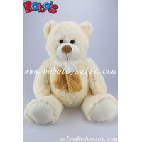 Buy cheap ECO-Friendly Matereial Beige Big Teddy Bears Toy With Scarf As Wholesale Pirce product
