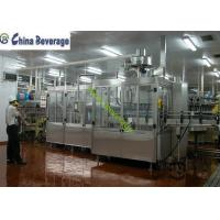 Buy cheap Energy Drink Water Bottle Filling Machine , Carbonated Soft Drink Production Line product