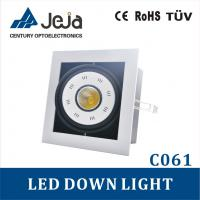 Buy cheap energy-saving Square Dual down light 15W/10W Epistar COB led down lightings product