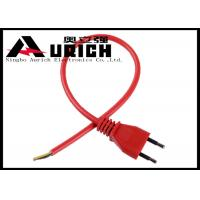 Buy cheap Italy Round 2 Pin Vacuum Cleaner Power Cord , 2 Conductor Appliance Power Cable product