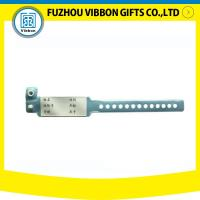 China Cheap Vinyl/ PVC Hospital Patient id Wristbands Bracelets for sale on sale