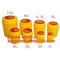 Buy cheap 3/5/8/10/15 liter square Sharp Container Sharp Box Medical sharps disposal container, Medical Materials & Accessories Pr product