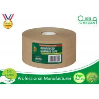 Buy cheap Water Release Gum reinforced kraft tape , printed kraft tape For Carton Packing product