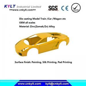 Buy cheap Precise Zinc/Zamak Metal Alloy Die Casting Model Car/truck/wagon/train (HO/TT SCALE) product