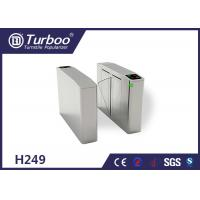 Buy cheap Fingerprint Optical Barrier Turnstiles Access Control System Self Reset Function product