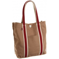 Buy cheap Khaki Cotton Recyclable 35*37*11CM 21oz Canvas Tote Bag from wholesalers