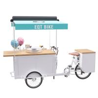 Buy cheap Easy Operating OEM Bicycle Food Cart With Food Grade Safe Water Pump product
