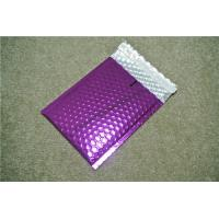 Buy cheap Antistatic Metallic Pink Bubble Mailers , Bubble Wrap Bags 135x210 #-AC product