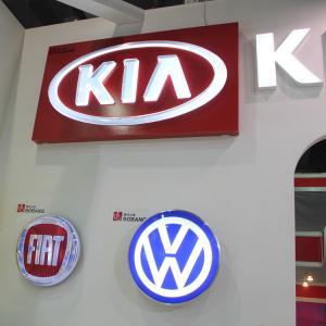 Buy cheap Advertising Car Logo Sign Design Led Backlit Acrylic signage product