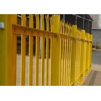 Buy cheap PVC Coated Metal Palisade Fence Panels European Style For Road / Railway product