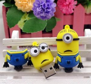 Buy cheap Bulk Despicable Me USB Flash Drive 4GB, 8GB, 16GB, 32GB, 64GB USB 2.0 product