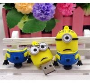 Buy cheap Cute design Cartoon minion usb flash drive for Despicable Me USB product