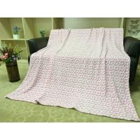 Colored Lightweight Flannel Blanket , Soft Printed 100 Polyester Throw Blanket