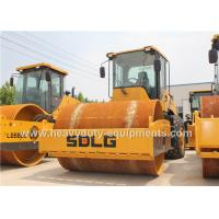 Buy cheap SDLG RS8140 Road Construction Equipment Single Drum Vibratory Road Roller 14Ton product