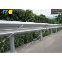 Buy cheap High Flexibility W Beam Crash Barrier Corrugated Steel Movable Guardrail product