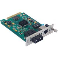 Buy cheap SNMP Manageable Fiber Optic Network Card 10/100/1000Base-TX to 1000Base-FX 1*9 product