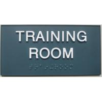 "Buy cheap SW 6229 ADA Room Signage 3""X 6"" , Clear Grade II Braille Custom Made Signs product"