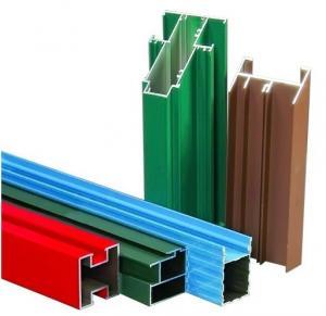 Buy cheap Non-изолированные внешние алюминиевые профили штранг-прессования рамки сползая окна T4 при филировать, сверля product
