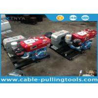 Buy cheap 5T Water Cooled Diesel Engine Cable Winch Puller for Tower Erection product