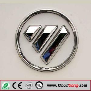 Buy cheap professional custom shape 3D metal auto emblems car logo product