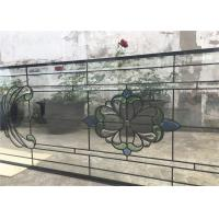 Laminated Tempered Patterned Glass Door Window Patterned