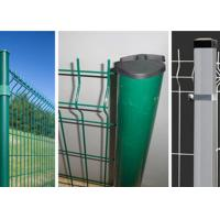 Buy cheap Security Welded Steel Wire Fencing / Triangle Bending Garden Mesh Fence product